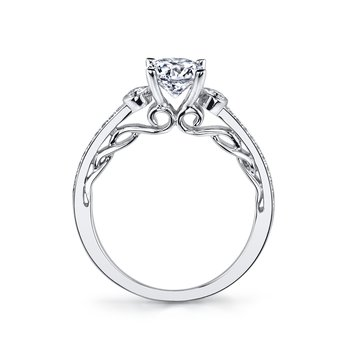 26543 Diamond Engagement Ring 0.17 ct tw