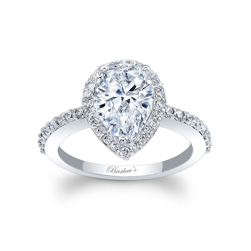 Barkev's Pear Shaped Engagement Ring