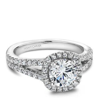 Noam Carver Vintage Engagement Ring B015-01A