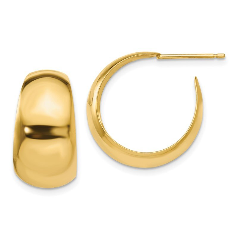 J.F. Kruse Signature Collection 14k Small Hoop Earrings