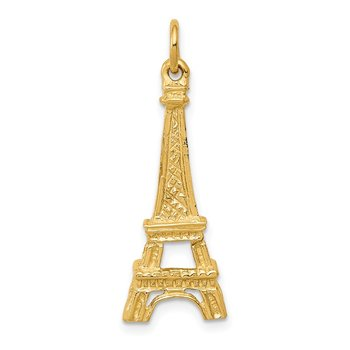 14k Eiffel Tower Charm
