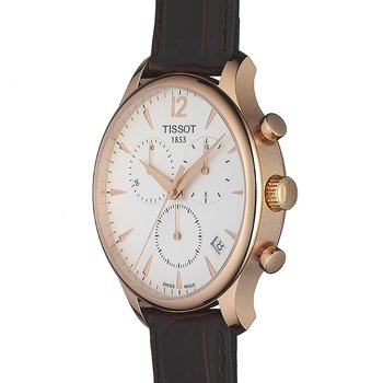 Tradition Rose Gold PVD Men's Quartz Classic Chronograph Watch