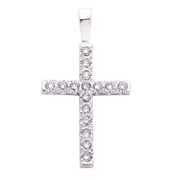 Fishtail Diamond Cross