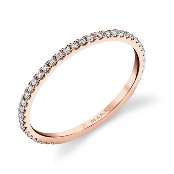 MARS Jewelry - Wedding Band 26262