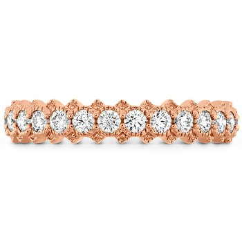 Liliana Bezel Milgrain Diamond Band