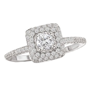 Halo Complete Diamond Ring