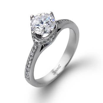 DR167 ENGAGEMENT RING