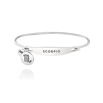 Zodiac: Scorpio ID Bangle