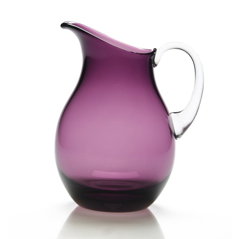 William Yeoward Amethyst Water Pitcher