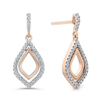 1/4 Ct Diamond Fashion Earrings