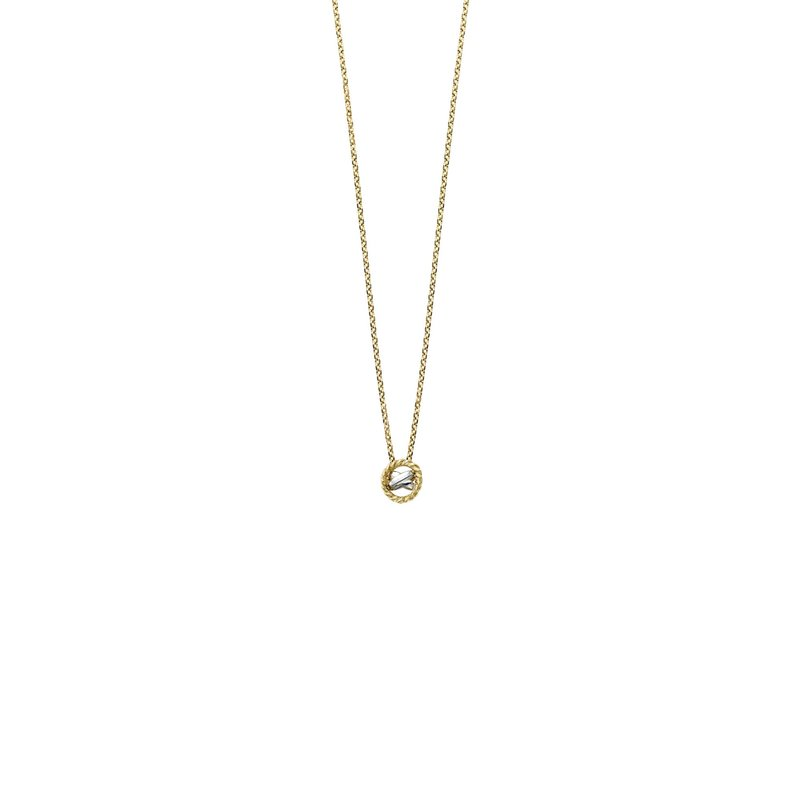 Royal Chain 14K Gold Italian Cable Necklace
