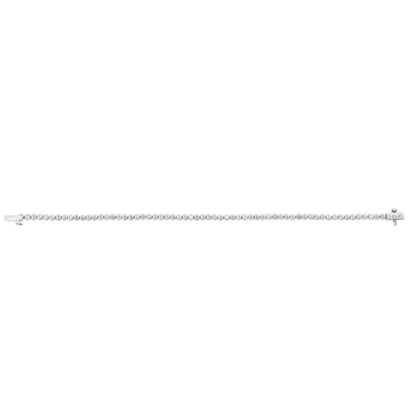 Gems One Classic Diamond Tennis Bracelet in 14K White Gold (2 ct. tw.)
