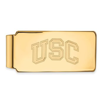 Gold University of Southern California NCAA Money Clip