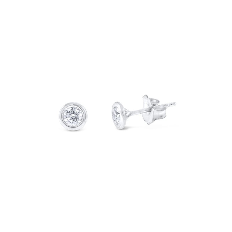 KC Designs 14K Gold and Diamond Stud Earrings