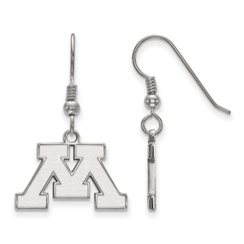Sterling Silver University of Minnesota NCAA Earrings