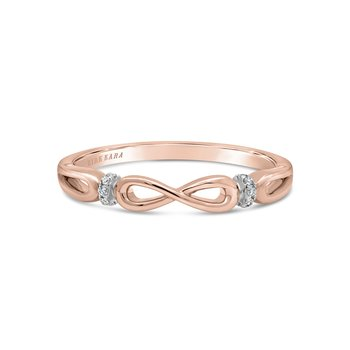 Kirk Kara 18K Rose Gold Diamond Bow Band