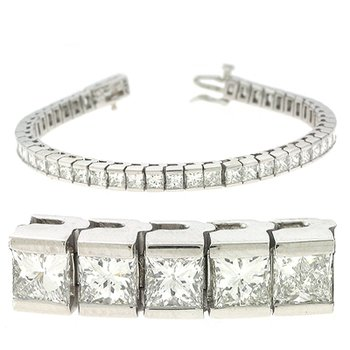 Princess Cut Bracelet