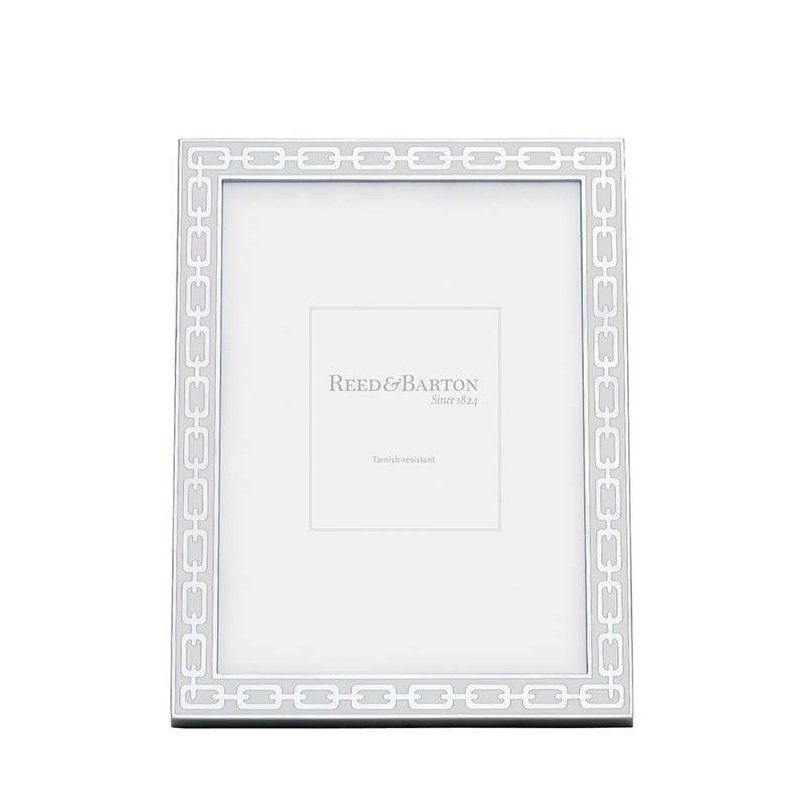 Radcliffe Jewelers Reed Barton White 5 X 7 Picture Frame