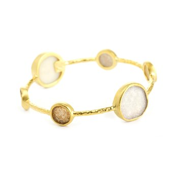 Pallas Gold Bangle