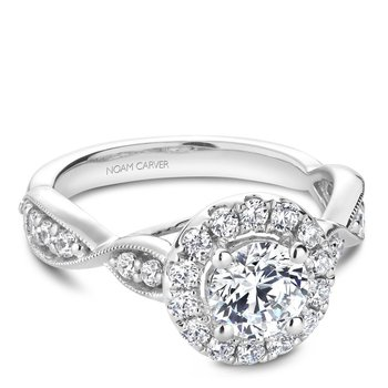 Noam Carver Vintage Engagement Ring B160-01A
