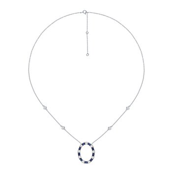 14K 0.67Ct Diamond Necklace