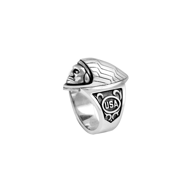 King Baby Indian Ornament Ring