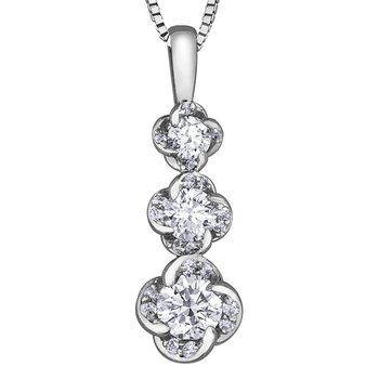 Maple Leaf Diamonds™ Wind's Embrace™ Pendant