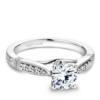 Noam Carver Vintage Engagement Ring B062-01A