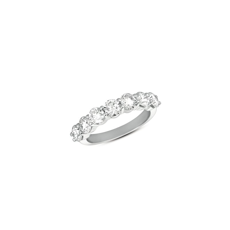 S. Kashi & Sons Bridal White Gold Prong Band