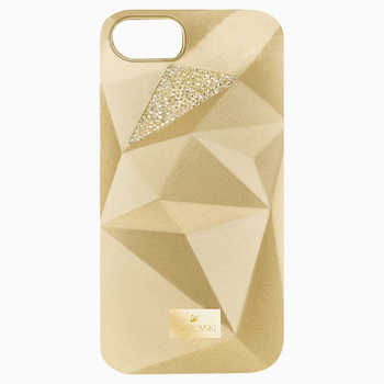 Facets Smartphone Case with Bumper, iPhone® 7, Gold Tone