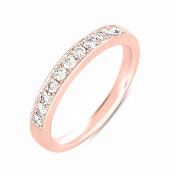 Rose Gold Pave Band