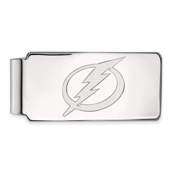 Sterling Silver Tampa Bay Lightning NHL Money Clip