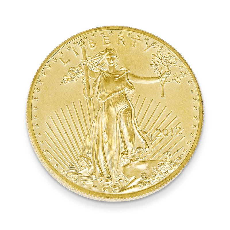 Quality Gold 22k 1/2 oz American Eagle Coin