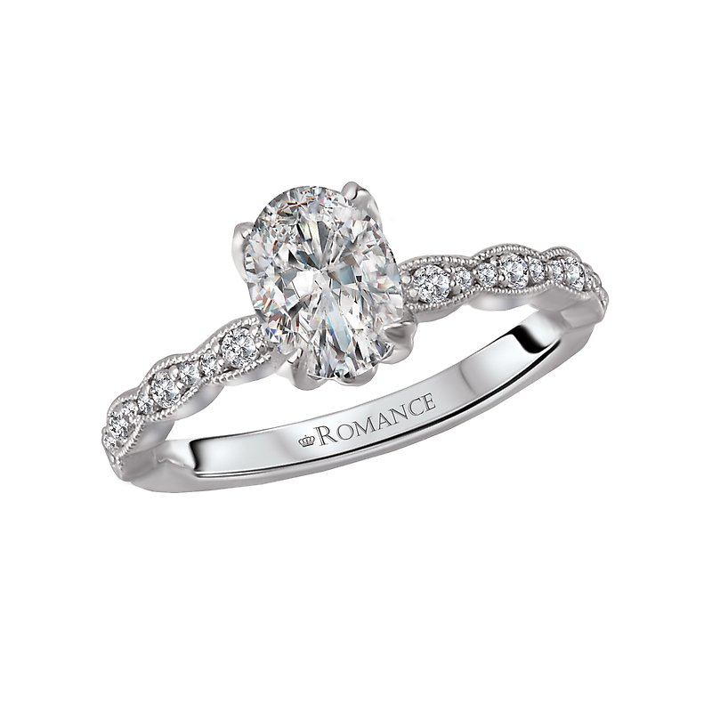 Romance Classic Semi Mount Diamond Ring