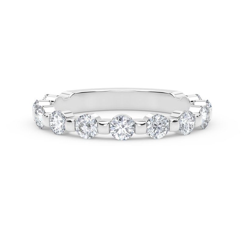 Forevermark Engagement and Commitment Single Shared Prong Band
