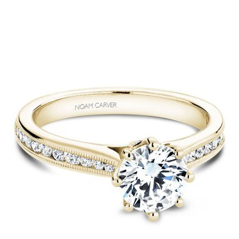Noam Carver Vintage Engagement Ring B145-04YA