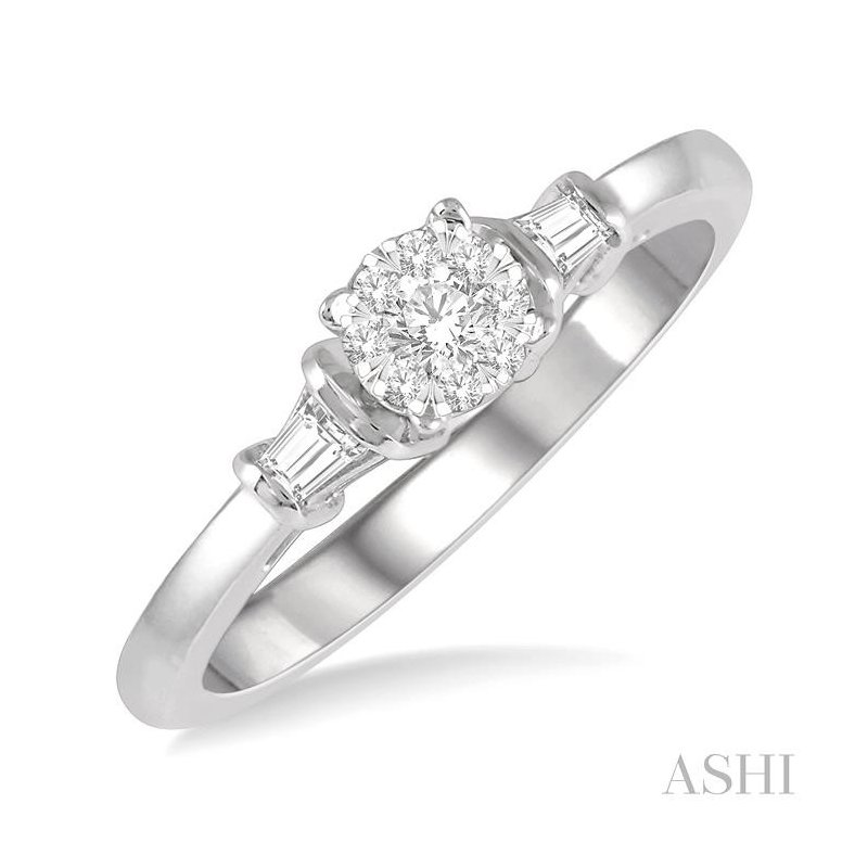 ASHI lovebright diamond engagement ring