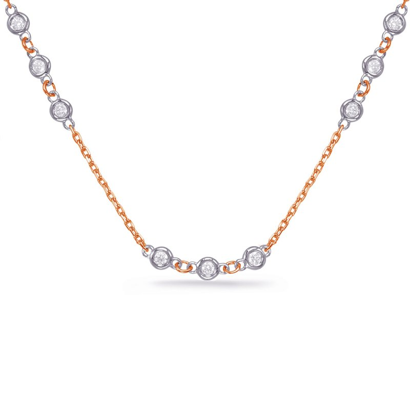Briana Diamond By Yard Necklace