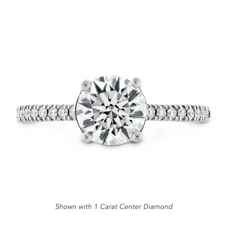 0.18 ctw. Sloane Silhouette Engagement Ring Diamond Band
