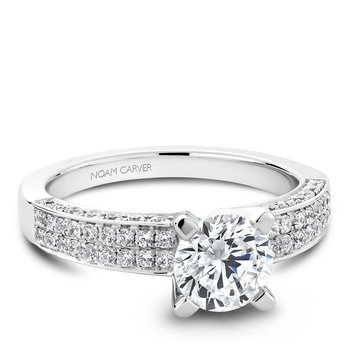 Noam Carver Vintage Engagement Ring B003-02A