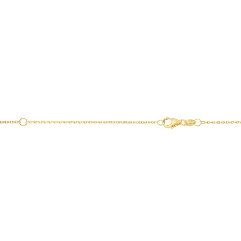 Royal Chain 14K Gold .9mm Double Extendable Diamond Cut Cable Chain