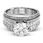 Simon G MR2141 ENGAGEMENT RING