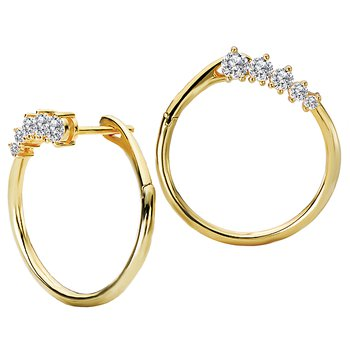Ladies Fashon Diamond Earrings