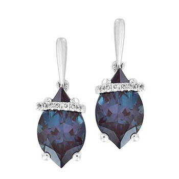 Alexandrite Earrings-CE4290WAL