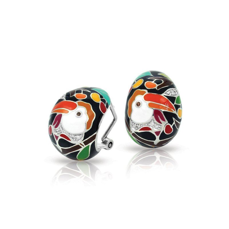 Belle Etoile Love Toucan Earrings