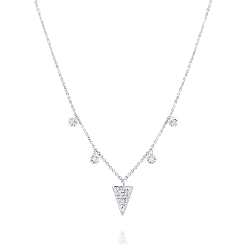 KC Designs 14K Five Station Diamond Necklace