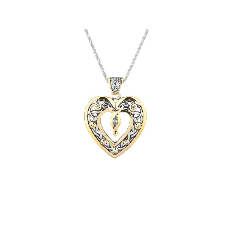 Keith Jack Celtic Open Heart Pendant