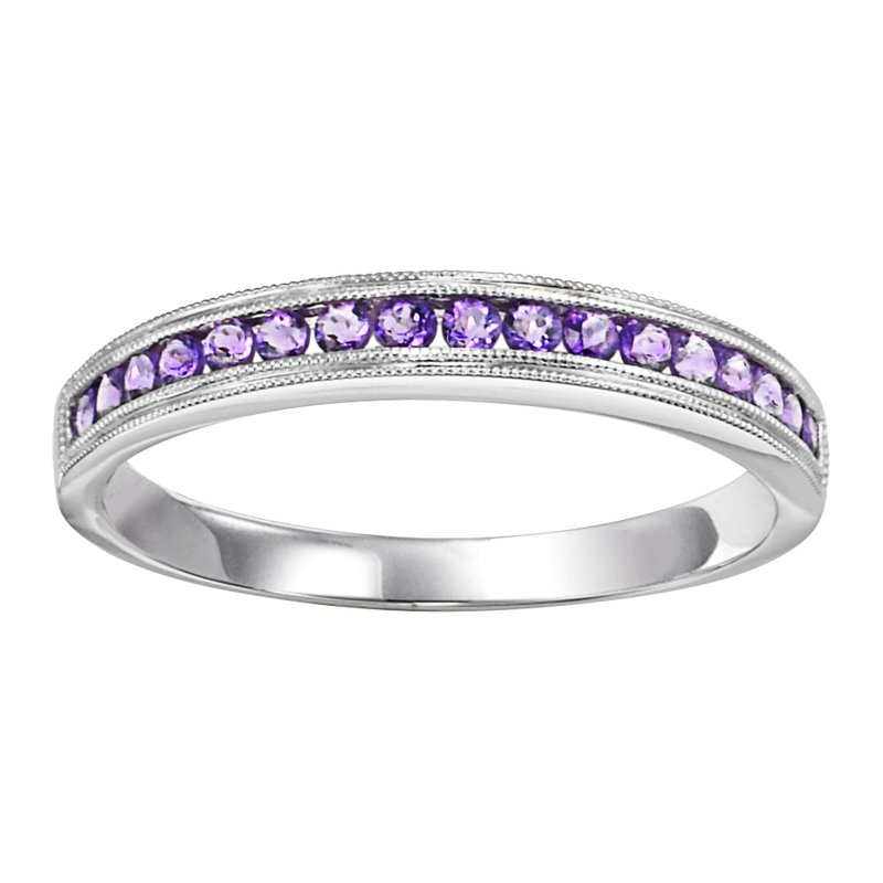 Mixables 10K Amethyst Mixable Ring
