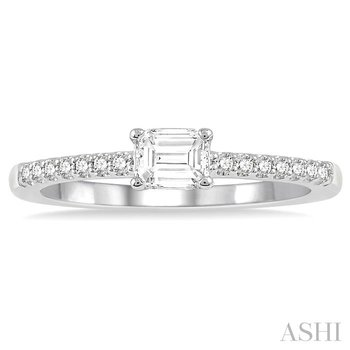 diamond east west stack ring