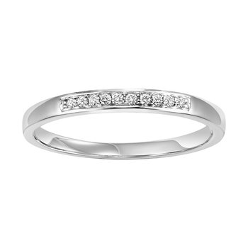 14K Diamond Matching Band